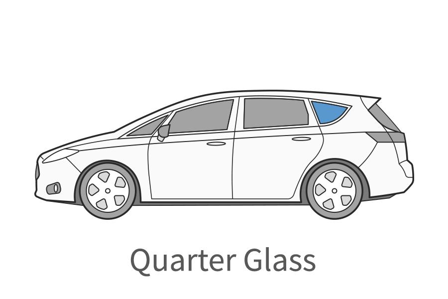 Quarter glass