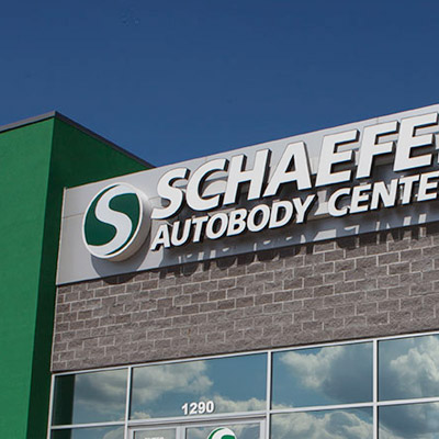 Schaefer Autobody building exterior